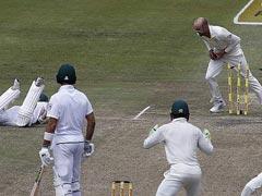 AUS VS SA: इस वजह से ऑस्ट्रेलियाई नॉथन लियॉन पर आईसीसी ने लगाया यह आरोप