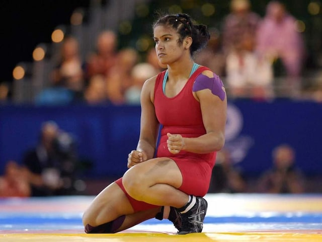 Navjot Kaur Clinches Indias First Gold In Asian Wrestling Championships