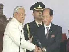 Neiphiu Rio Takes Oath As Nagaland Chief Minister