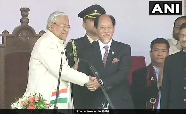 नेफ्यू रियो बने नागालैंड के मुख्यमंत्री, अमित शाह और सीतारमण शपथ ग्रहण में रहे मौजूद