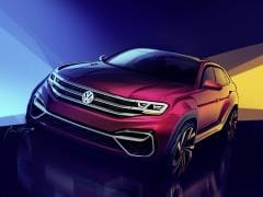 Volkswagen Atlas-Based Five-Seater SUV Teased; Debut At New York Auto Show