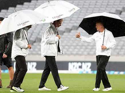 Rain Frustrates High-Flying New Zealand In First England Test