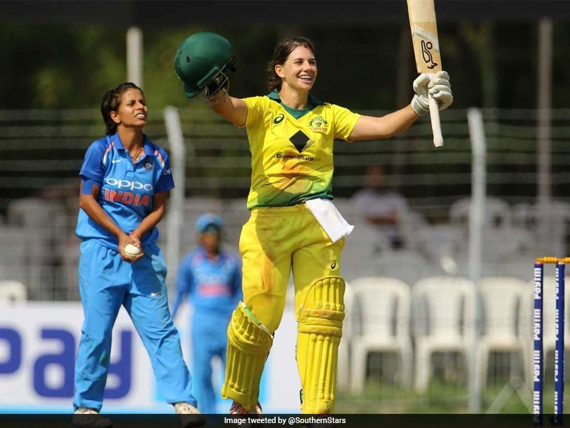 Nicole Bolton Hits Ton To Set Up Australia's Crushing Win Over India Women