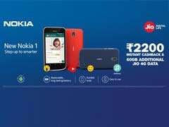 Jio's New Offer: Cashback Worth Rs 2,200, Additional Data Of 60 GB On Nokia 1