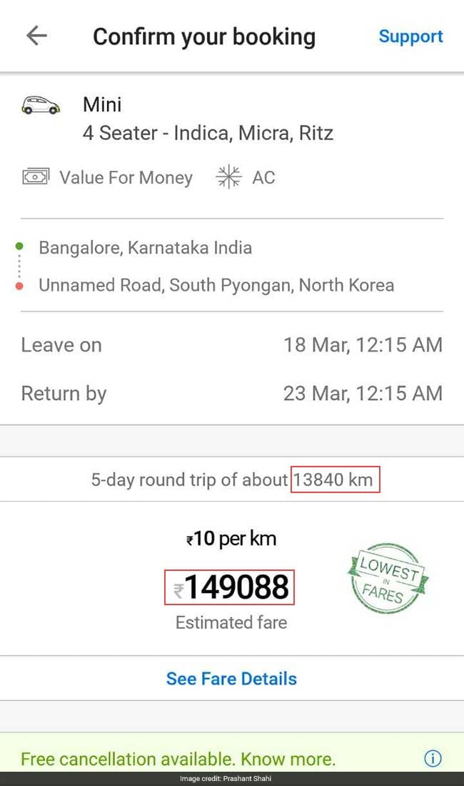 ola company contact number