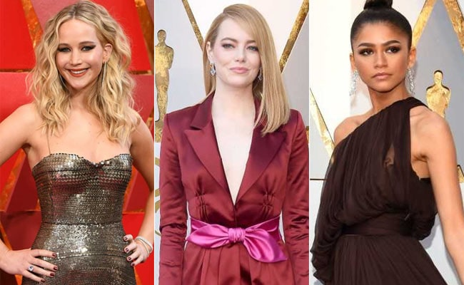 Oscars 2018: Best-Dressed Actresses, From Jennifer Lawrence To Lupita Nyong'o