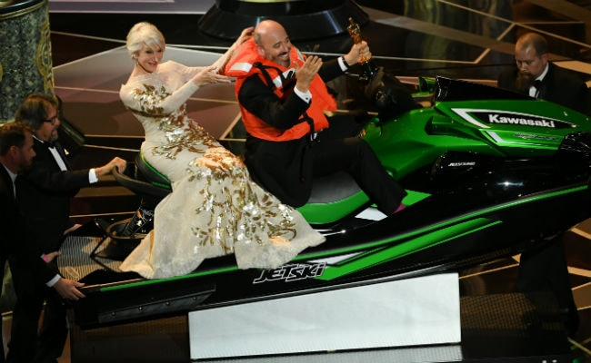Oscars 2018: Leaving On A Jet Ski - The 'Real Prize,' For Keeping Speech Short