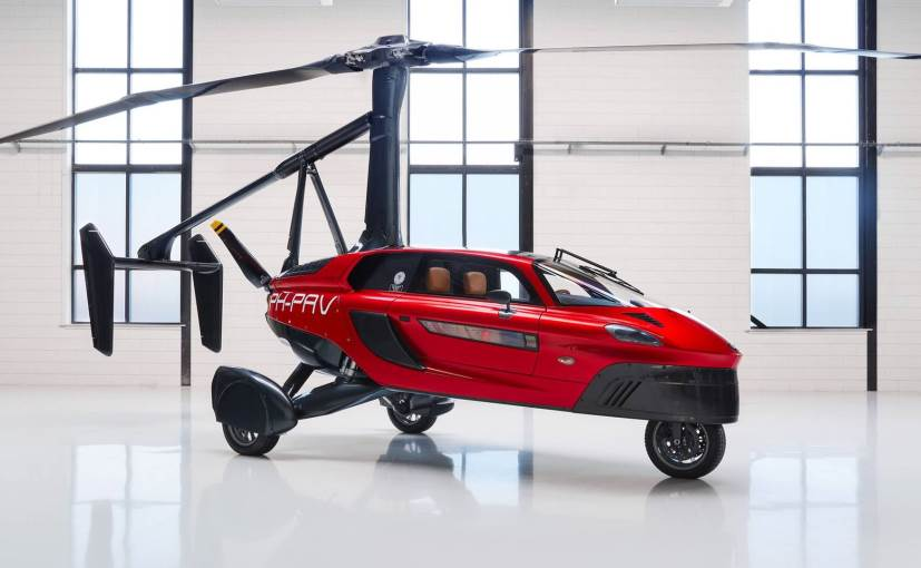 High hopes: Dutch company launches flying vehicle at Geneva show