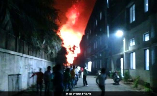After Factory Blast In Maharashtra's Palghar, Officer Charged For Allegedly Refusing To Send Fire Engines