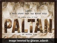 Paltan Poster Out: भारत-चीन युद्ध पर बन रही फिल्म, जैकी श्रॉफ सहित होंगे ये बड़े स्टार्स