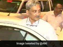 In Letter, Manohar Parrikar Confirms He Is Going To US For Treatment