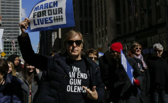 Why Paul McCartney Marched For Gun Law