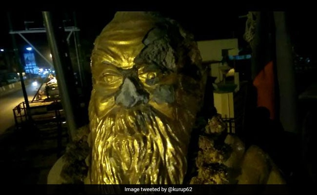 periyar statue vandalised 650