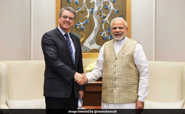 World Trade Organisation Chief Calls On PM Modi
