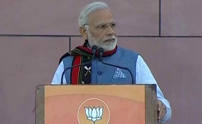 Even Vaastu Shastra Says Northeast Is Important, Says PM Modi