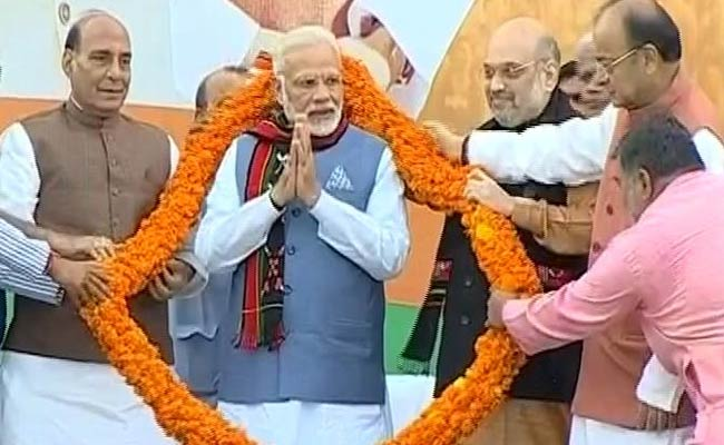 BJP's Tripura Win Over Left A 'Victory Of Ideology,' Says PM Modi
