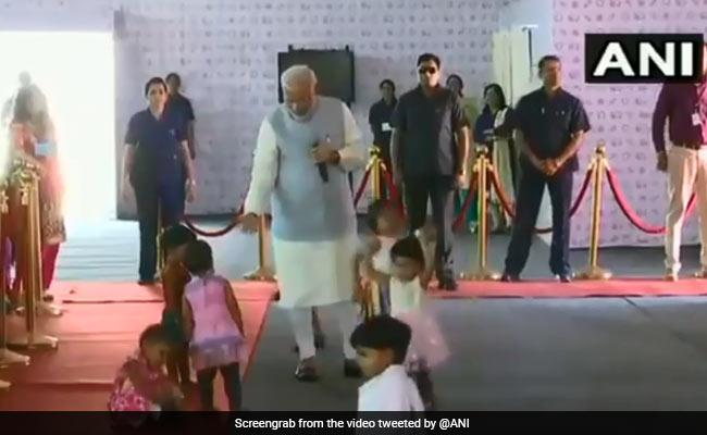 On International Women's Day PM Modi Meets Betis, Remembers Swachh Bharat Mascot Kunwar Bai