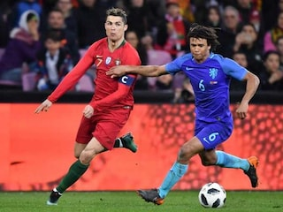 Netherlands Give Ronald Koeman First Win By Cruising Past Cristiano Ronaldos Portugal