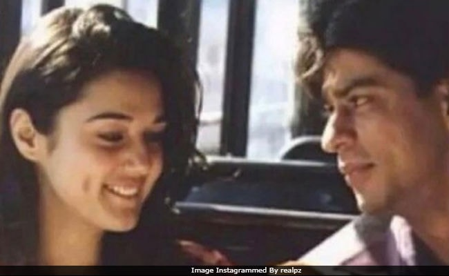 Look What Preity Zinta Found - A Dil Se Pic With Shah Rukh Khan