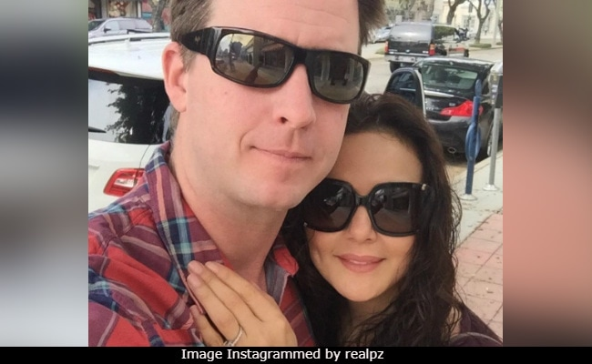 Preity Zinta And Gene Goodenough, In Super-Cute Anniversary Pic