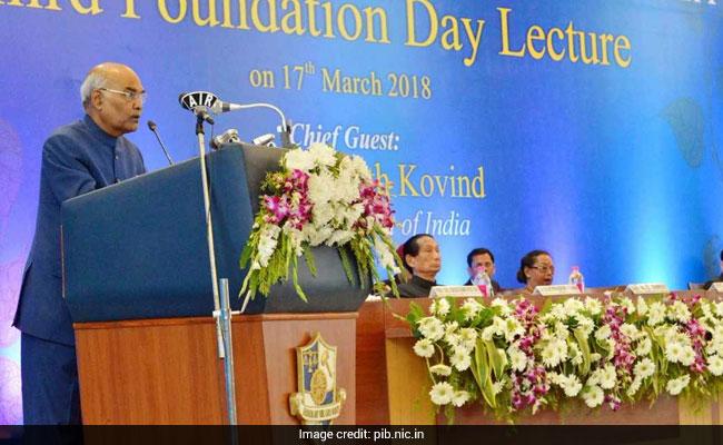 President Kovind Urges Lawyers To Be Humane On NLU Odisha Foundation Day