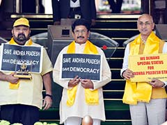 """Andhra Pradesh Row LIVE: """"Major Emotional Issue Of Special Status Not Addressed,"""" Says TDP Lawmakers"""