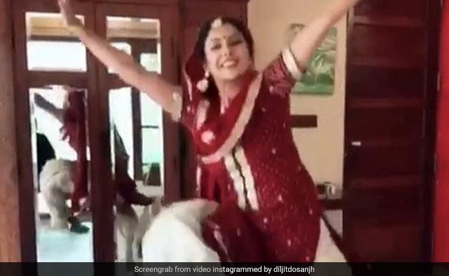 VIDEO: दिलजीत दुसांझ के गाने पर इस पंजाबी कुड़ी ने किया भांगड़ा, हर जगह हो रही बल्ले बल्ले