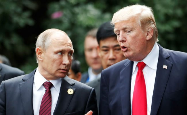 Vladimir Putin, Donald Trump To Discuss Iran, Arms At G20 Summit: Kremlin