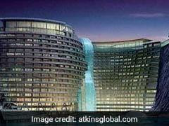 China's 'Quarry Hotel' To Have 17 Floors Underground, 2 Under Water