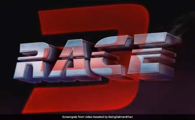 ये लीजिए... सलमान खान ने रिलीज कर दिया Race 3 का फर्स्ट लुक, देखें वीडियो