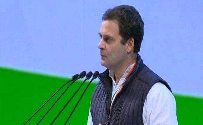 कांग्रेस महाधिवेशन: राहुल गांधी ने कहा, बीजेपी एक संगठन की आवाज है जबकि कांग्रेस देश की आवाज है