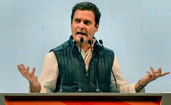 PM Modi's 'Acche Din' PR Will Take A Beating: Rahul Gandhi On Unemployment