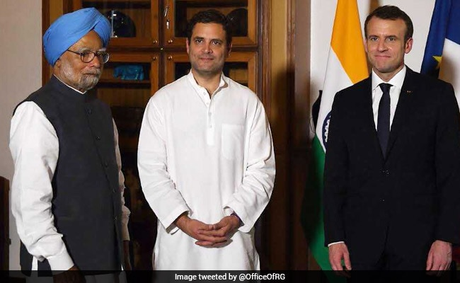 French President Said No Problem Revealing Rafale Price: Congress Sources