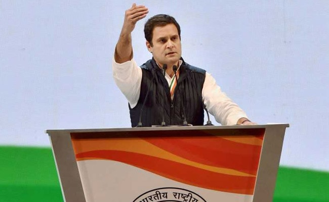 BJP 'Lying Factory' At Work: Rahul Gandhi On Cambridge Analytica Charges