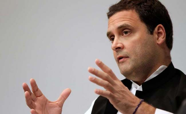 'Not A Word' From PM Modi On Dalit Atrocities, Says Rahul Gandhi