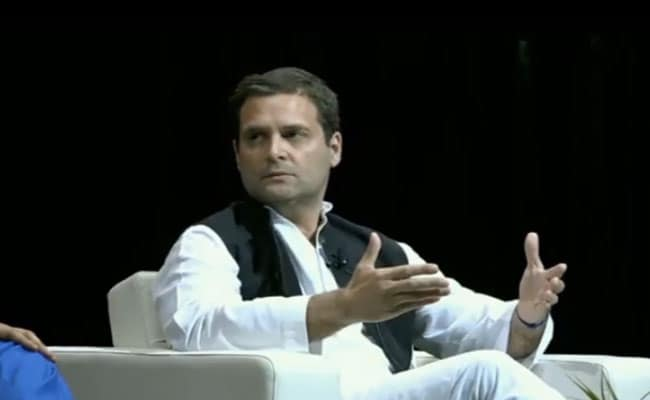 'I Told Him He Was Going To Die': Rahul Gandhi On Father's Assassination