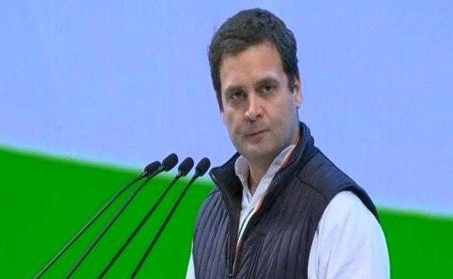 कांग्रेस महाधिवेशन में बोले राहुल गांधी, 'किसान मर रहे हैं लेकिन मोदी जी कहते हैं योगा करो'