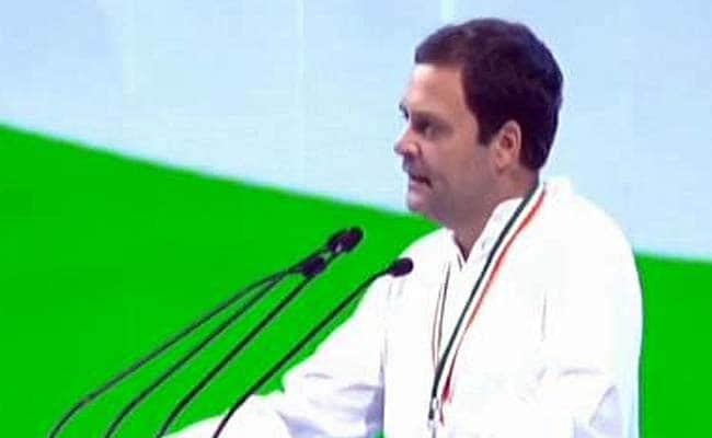 कांग्रेस महाधिवेशन: राहुल गांधी बोले-  इस देश को कांग्रेस रास्ता दिखा सकती है, वो नफरत, हम प्यार करते हैं