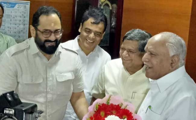Rajya Sabha Candidates From Karnataka File Nominations