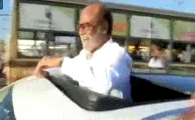 Politician Rajinikanth To Deliver Debut Speech, Talk To Students In Chennai