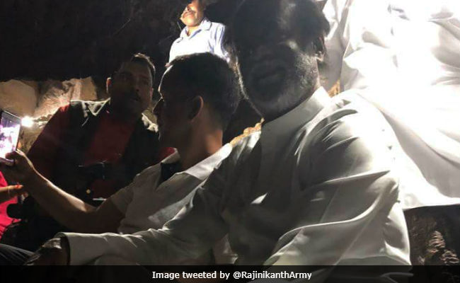 Pics From Rajinikanth's Himalayan Pilgrimage