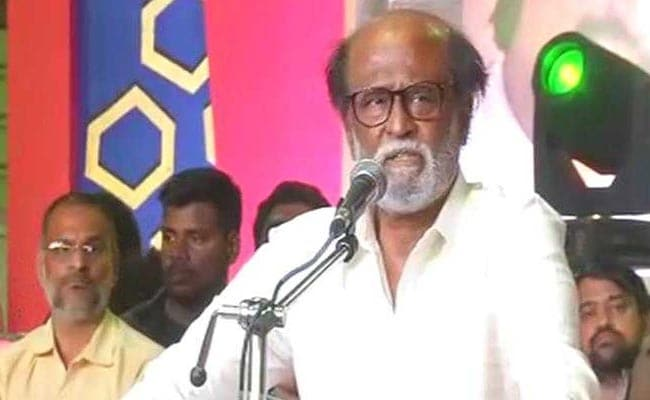 Rajinikanth Delivers First Speech After Political Plunge, Huge Crowd Present: Highlights