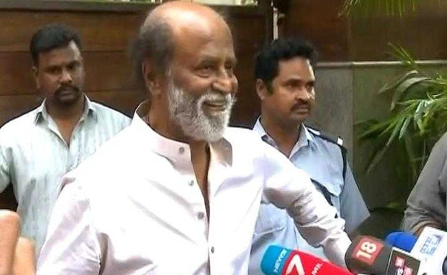 Not BJP, only God and people behind me: Rajinikanth on his politics