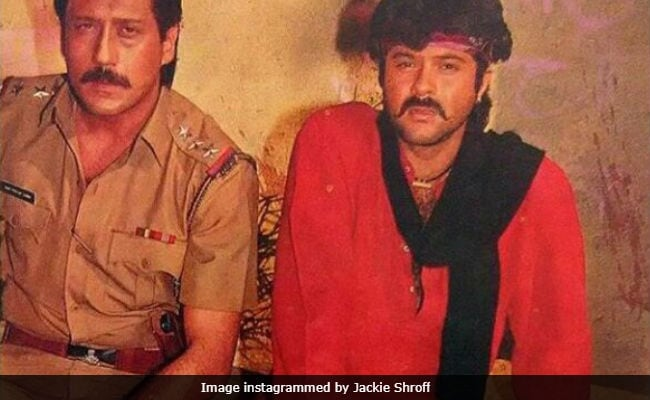 A Ram Lakhan Throwback Pic (Thank You, Jackie Shroff) For Your Dhina Dhin Dha Weekend