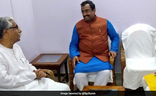 In Unusual Gesture, BJP Leader Goes To Tripura's CPM Office, With Invite