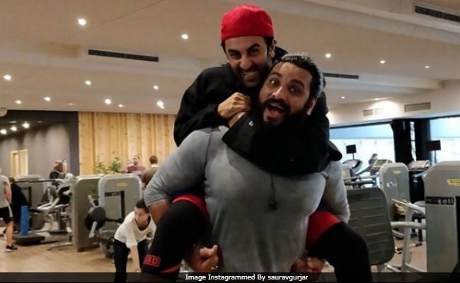 Meet Brahmastra Star Ranbir Kapoor's New Gym Buddy