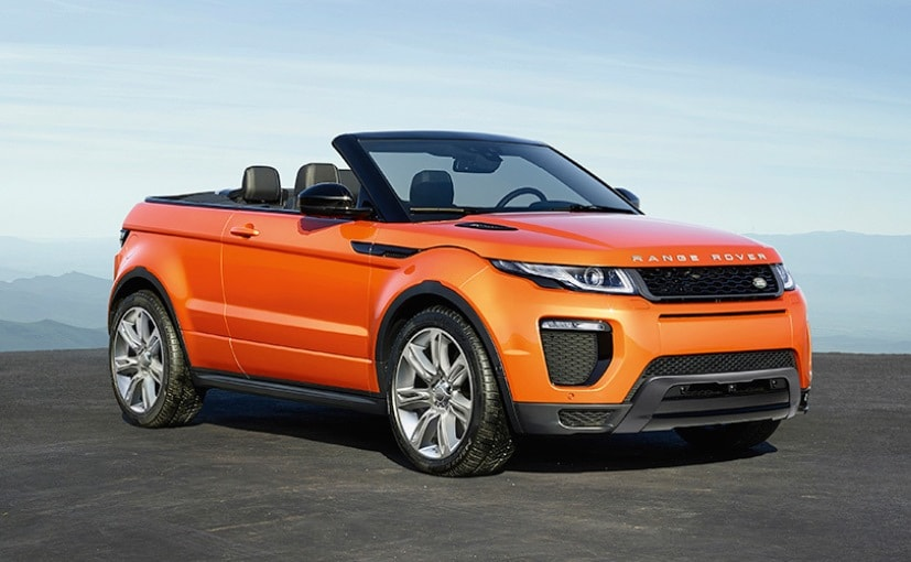 Range Rover Evoque Convertible To Be Launched In India This Month