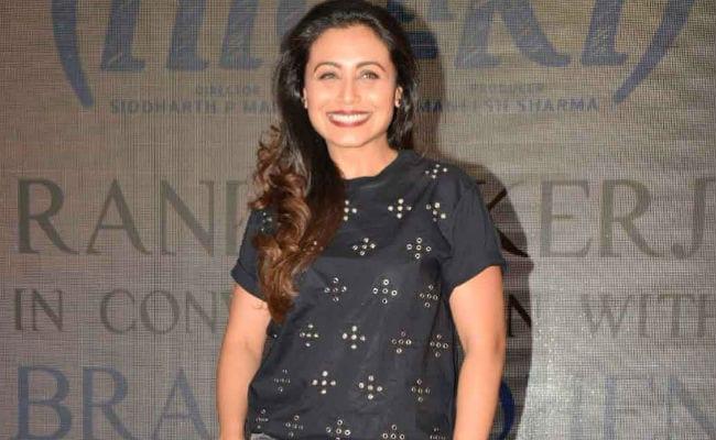 Rani Mukerji Intends To Treat Her 40s Like Her 20s