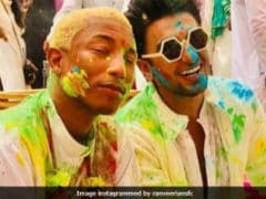 Inside Ranveer Singh's Holi Party For Pharrell Williams