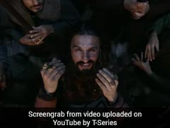 "<i>Padmaavat</i> Protest Was ""Bizarre"", Bordered On Fascism: Ranveer Singh"